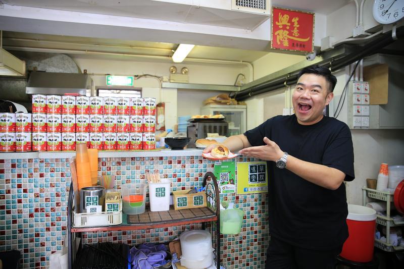 香港少年食神林澄光Michael Lam是華嫂的忠實顧客,未來還想幫她把港式冰室文化帶到亞洲各地。