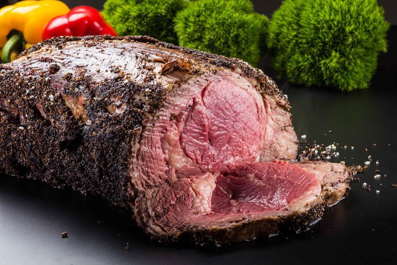晶華酒店館外餐廳「Just Grill」今年首度加入餐廳週,圖為最受歡迎的「爐烤牛排」。(Just Grill提供)