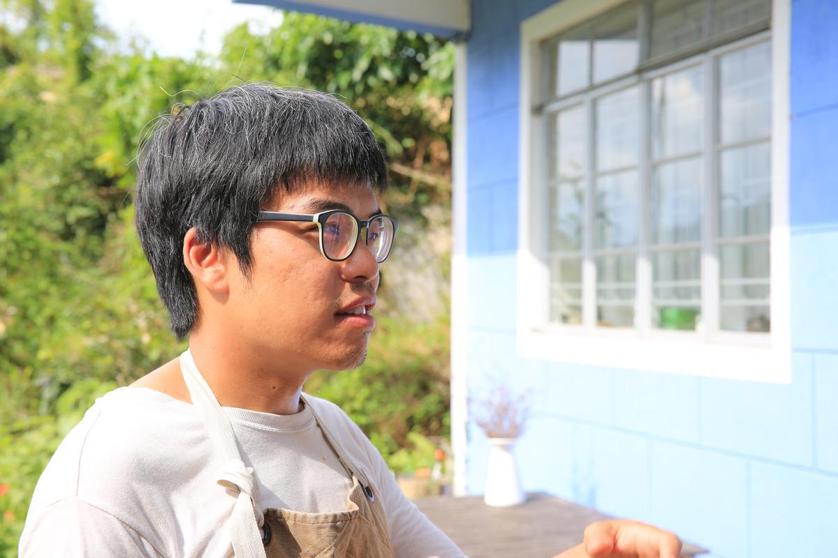 陳達燊是典型的理工男,開始做一件事就會很專注去做。