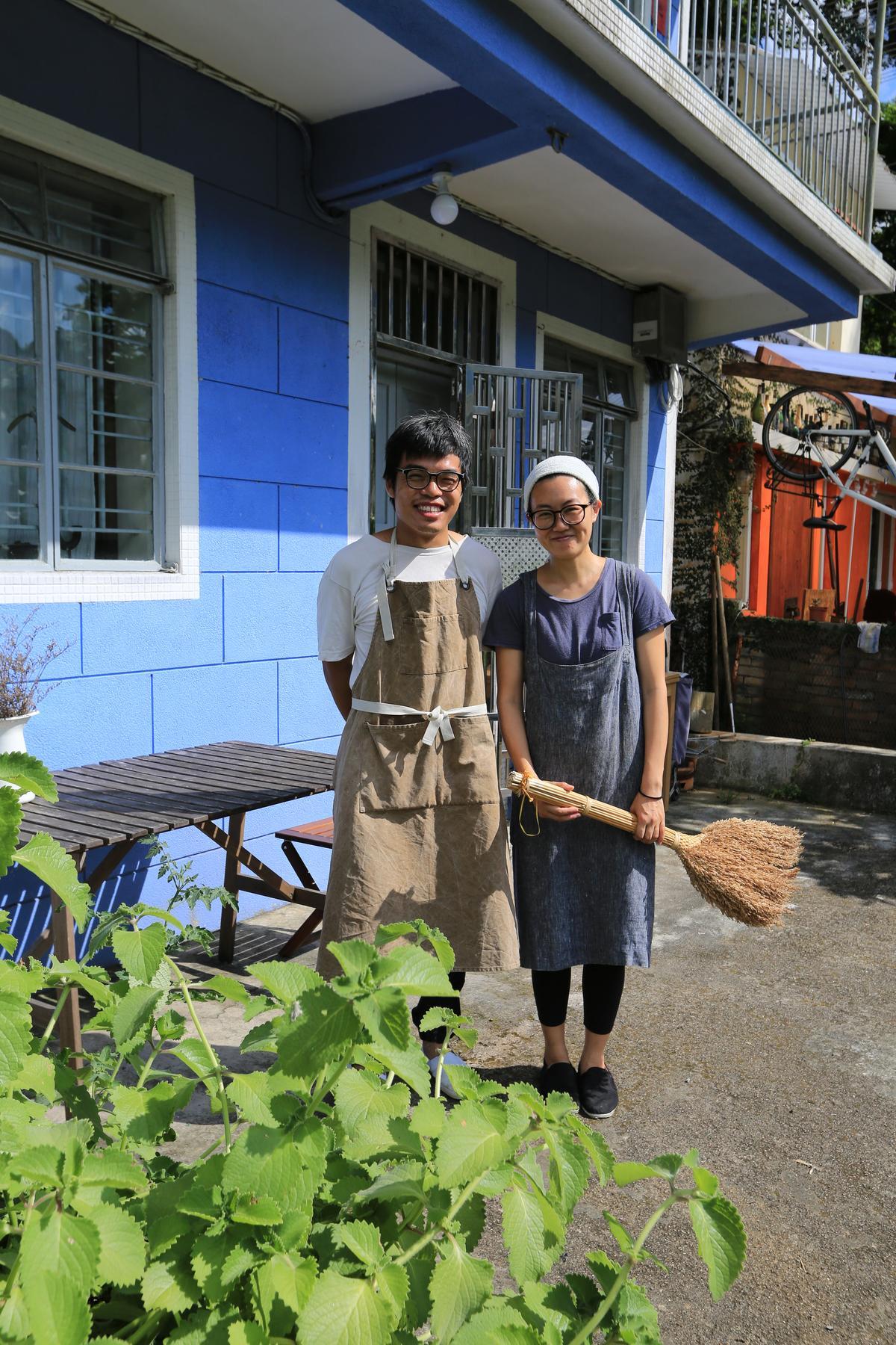 兩人坦承在香港必須天時地利人和,才有可能過他們這般的小農生活。