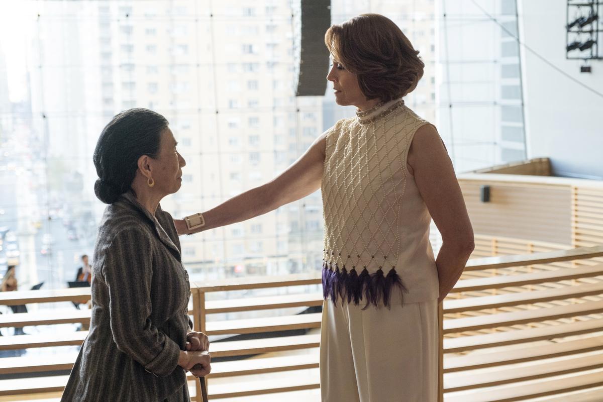 高夫人遇上亞莉珊卓,也只能乖乖聽命。