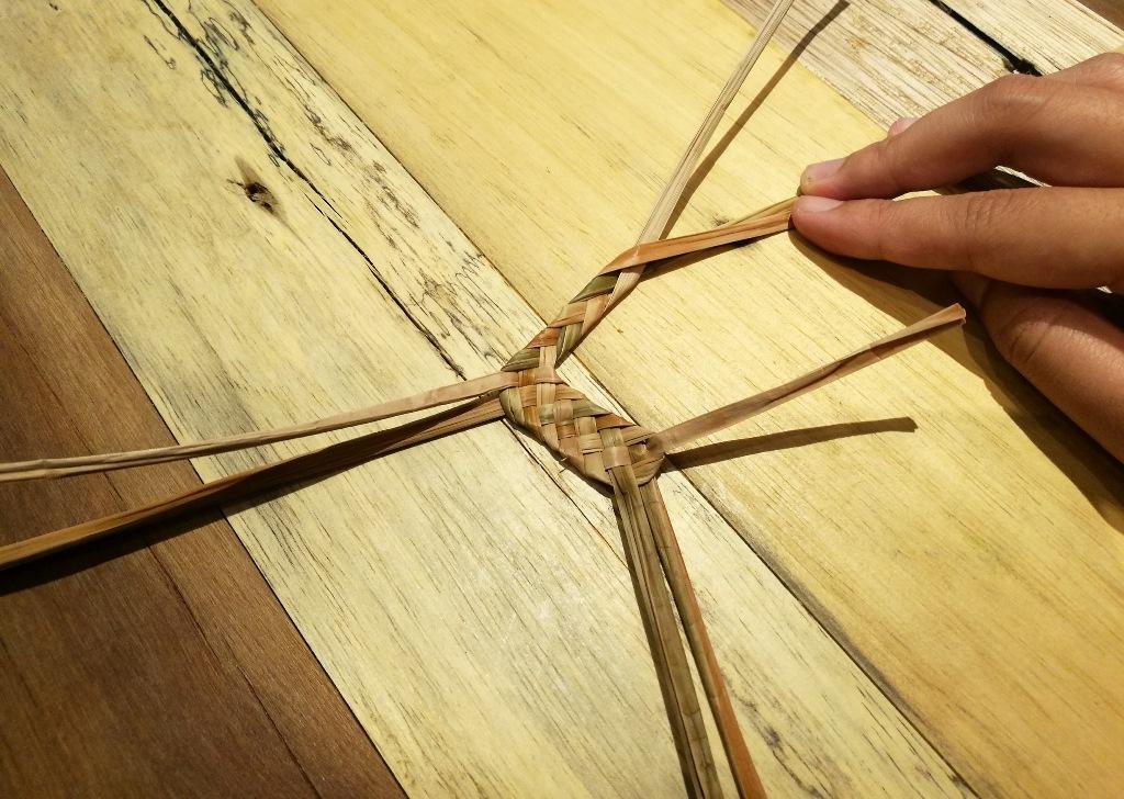 這次展覽中還有3場活動,可以親手體驗藺草編織。