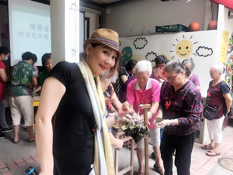 郎祖筠擔任志工多年,對老後生活很有想法,也希望趁年輕打造一個舒適又熱鬧的晚年。(翻攝自臉書)