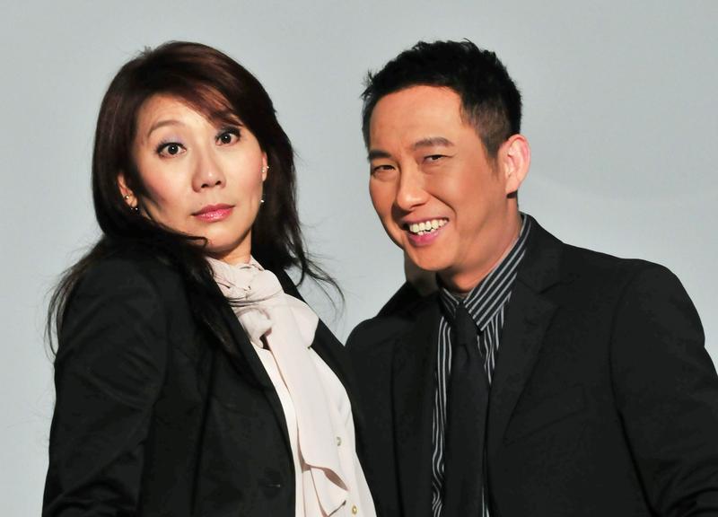 明星也要理財,而郎祖筠(左)的理財動機,是希望自己老後不要又病又窮!