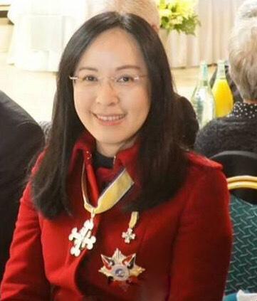 立委陳瑩日前獲頒紐西蘭毛利皇室勳章。