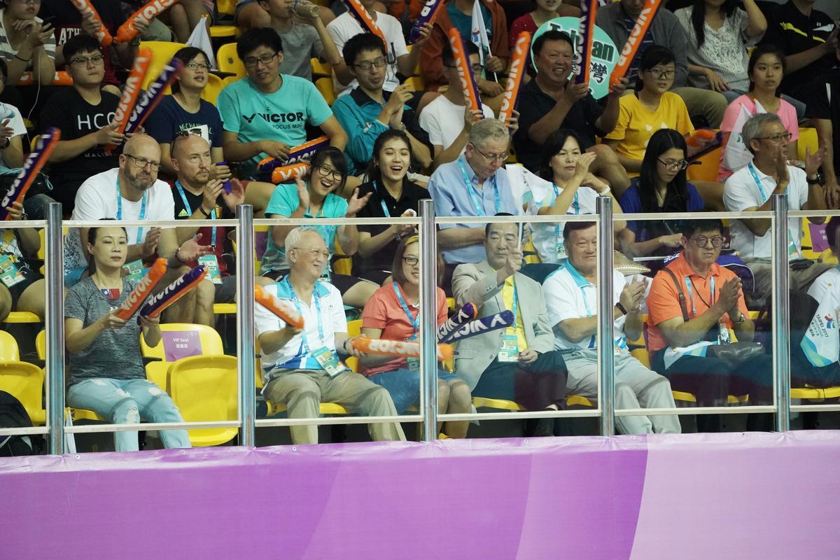 連親民黨主席宋楚瑜都前來支持。