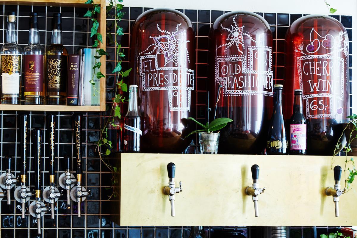 位於哥本哈根的「Mikropolis」,提供on tap的雞尾酒。(Mikkeller提供)