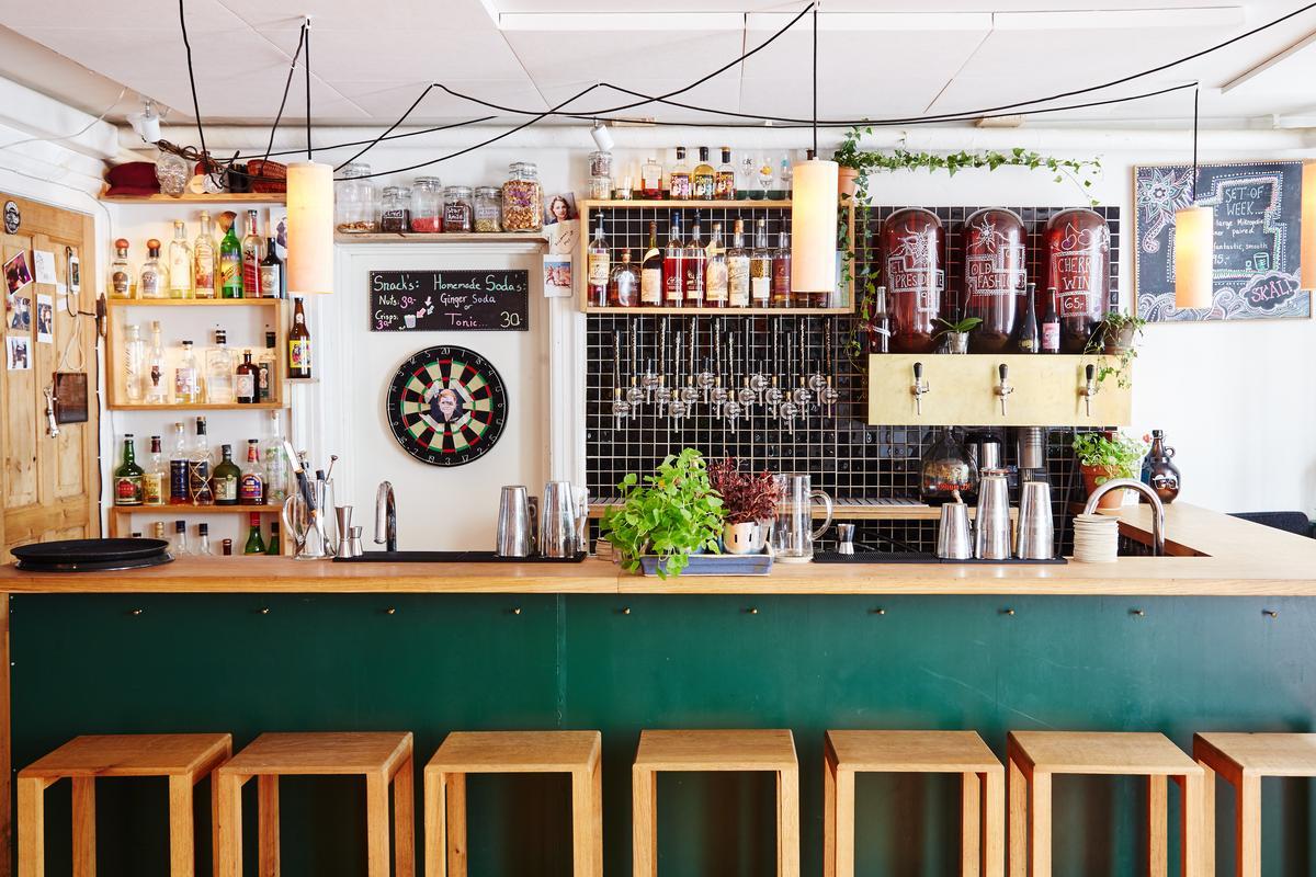 「Mikropolis」提供10款啤酒與11款調酒。(Mikkeller提供)