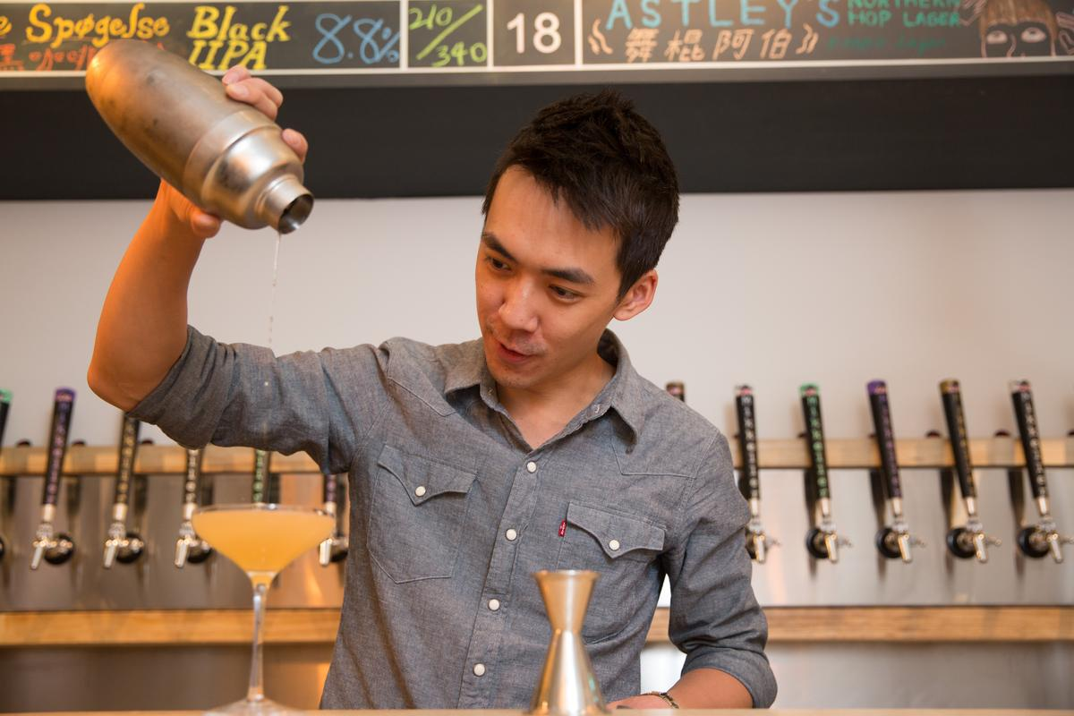 Victor認為最純粹的Whisky Sour要做的好,非常考驗調酒師本身的技巧。