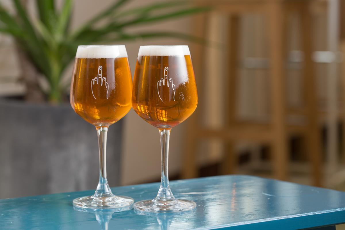 「Mikropolis Ba Bourbon」這款酸啤是啤酒版的Whisky Sour。