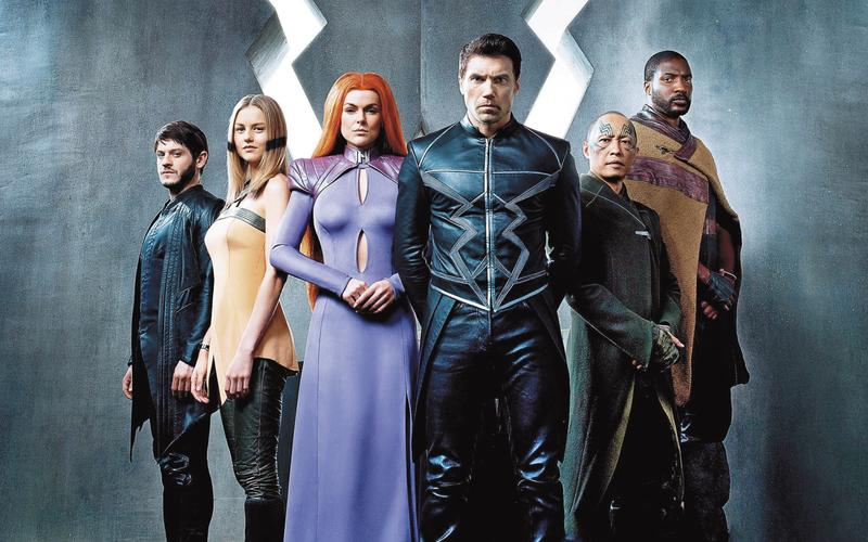 異人族指的是在地球進行的基改實驗創造出的超人類種族,成員每個都具有超能力,故事不僅陸續翻拍成電視,還將進軍大銀幕。