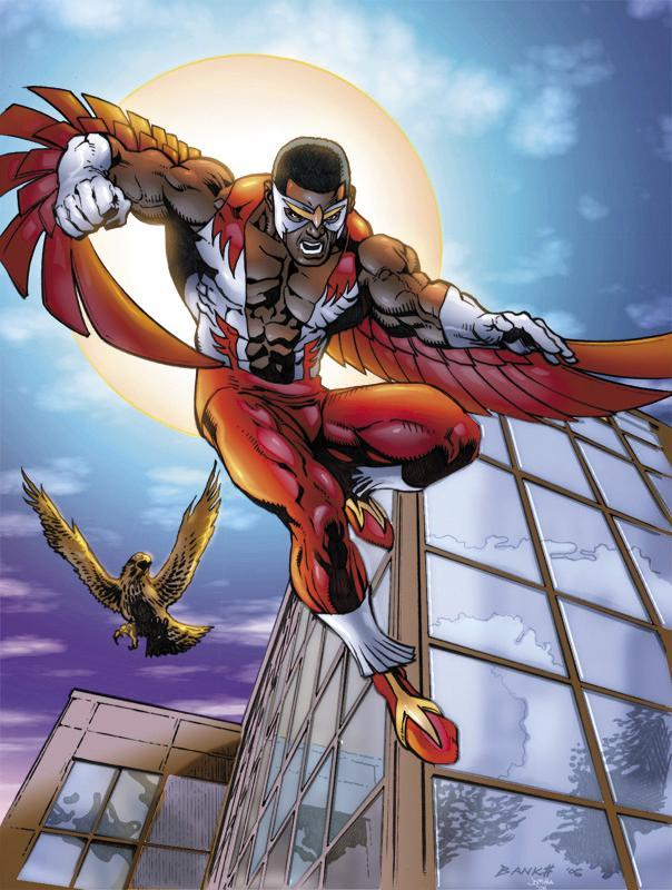 在漫畫中擁有與寵物鳥「紅翼」互相溝通的能力,也可以召喚其他鳥類、以鳥眼偵查。不過在電影裡這些設定都被刪除了,「紅翼」更改成高科技的無人機。