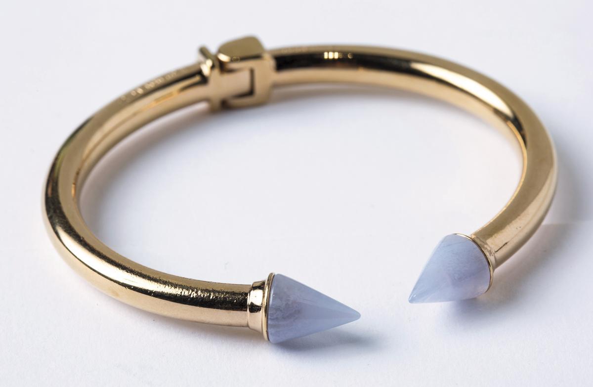 VITA FEDE藍紋瑪瑙手環。NT$17,000