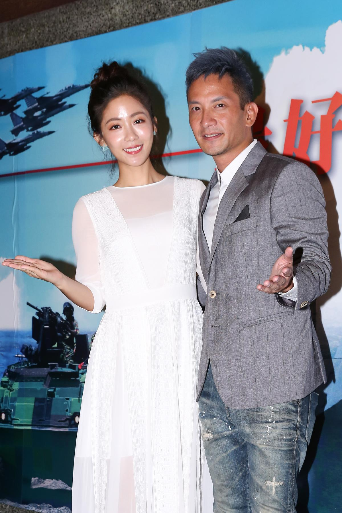高山峰(右)育有6歲兒子跟3歲女兒,他表示接演了《最好的選擇》後成為了兒子的偶像。