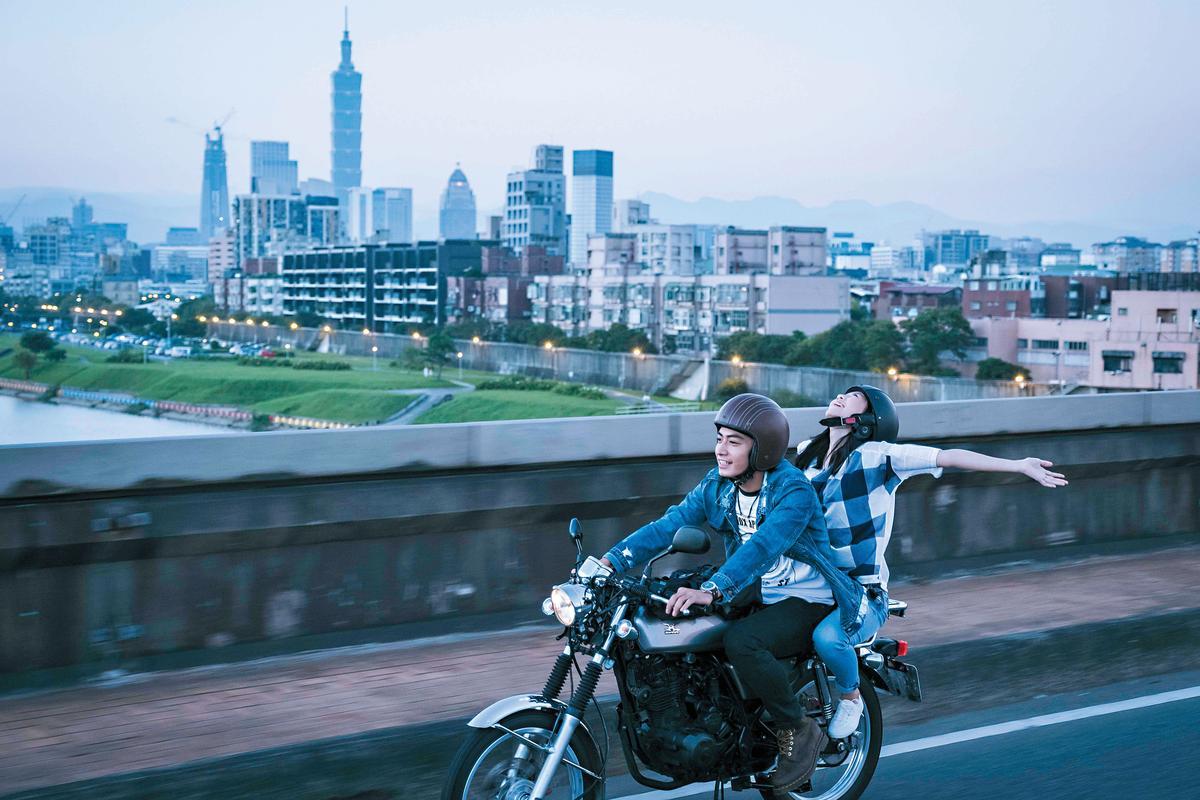 宋柏緯(左)、王丁筑在鄭有傑眼中,都是深具潛力的新演員。