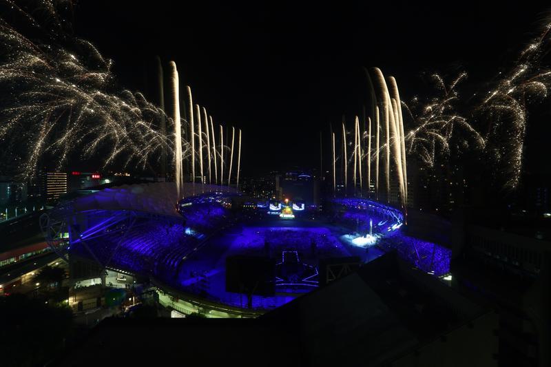 終場,綻放燦爛煙火,為2017年臺北世大運劃下句點。