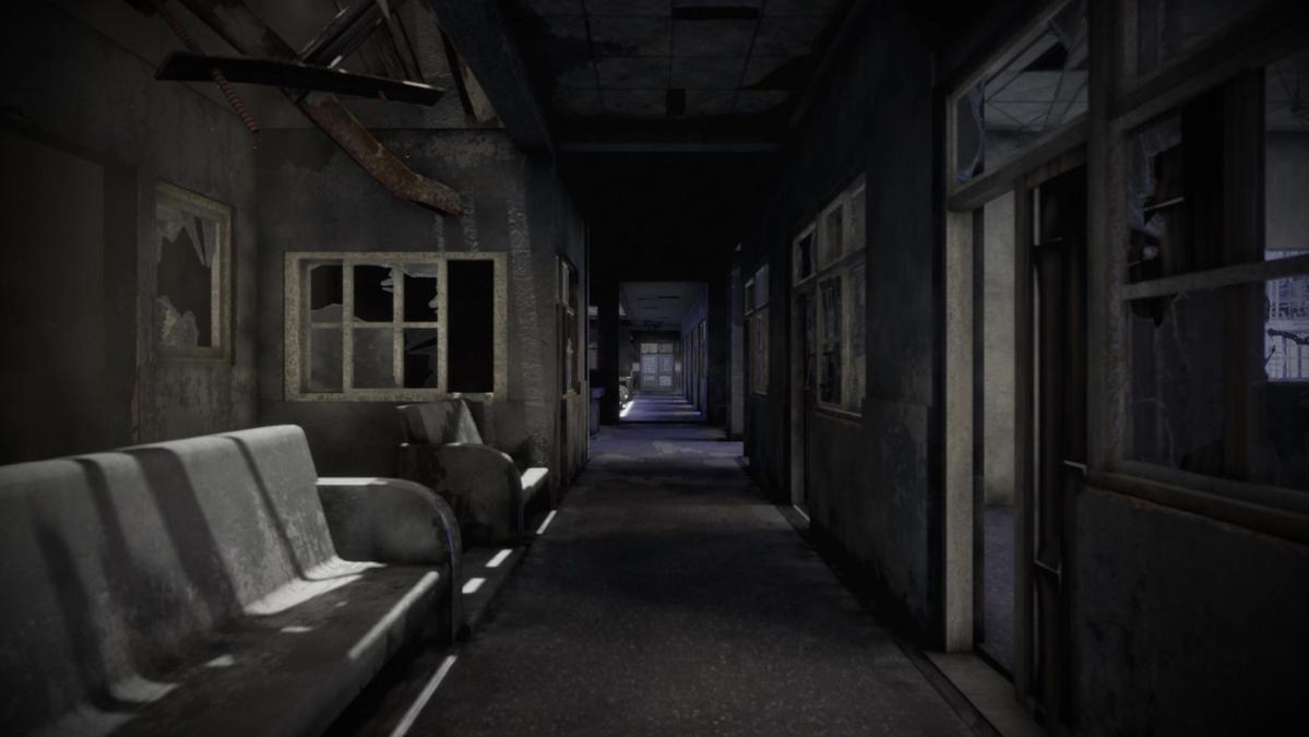 遊戲裡杏林醫院的場景。
