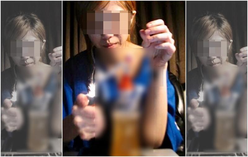 李男在臉書貼出學姐周女吸毒的照片,痛批她是借錢不成才報復提告。(翻攝李男臉書)