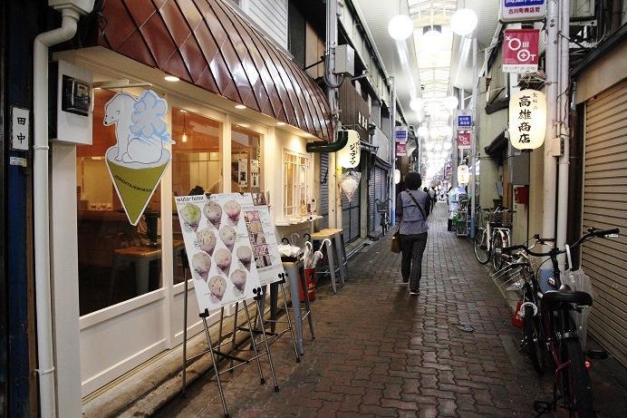 在古川町商店街內,有一間最近很受歡迎的棉花糖店。