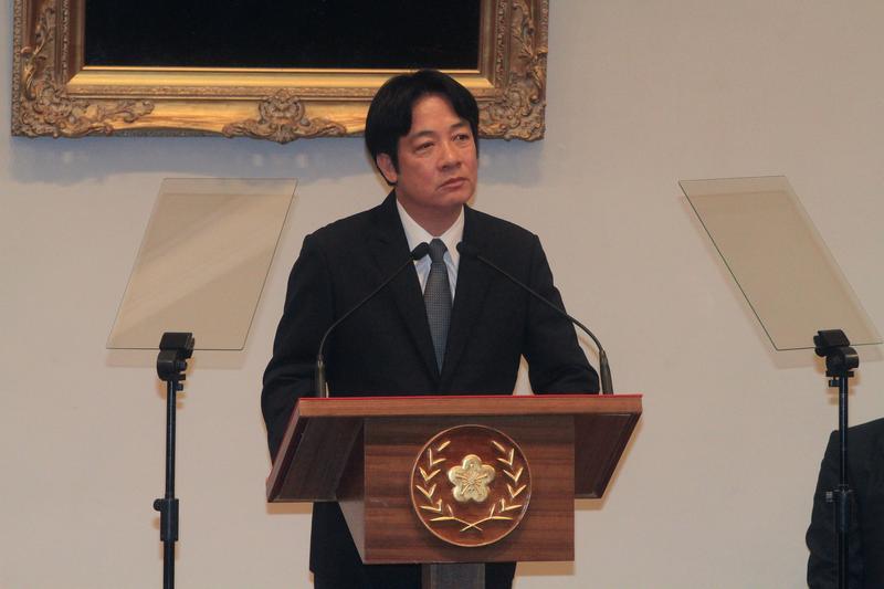 台南市長賴清德即將接任行政院長。