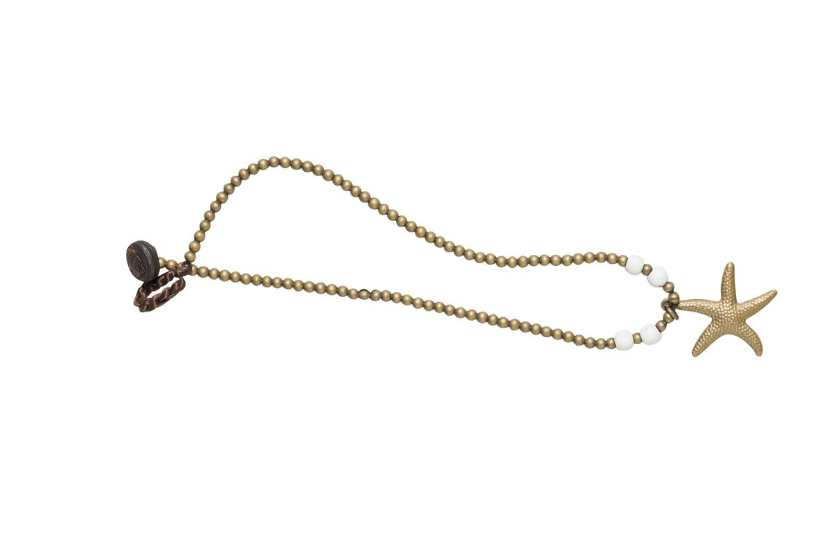 普吉島買的星星腳鍊。約NT$200