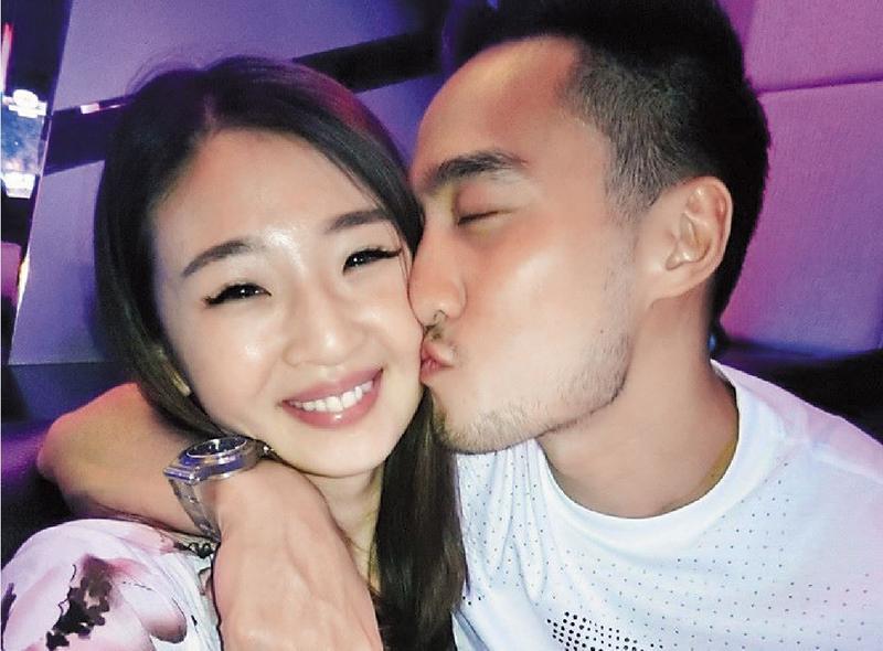 賴弘國和趙筱葳熱戀時,被網友讚為《我可能不會愛你》的林依晨和王陽明真實版。(翻攝自Ivy Chao臉書)