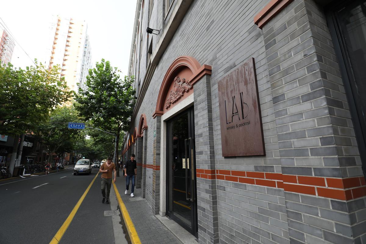 Lab所在的武定路,是上海酒吧雲集之地。