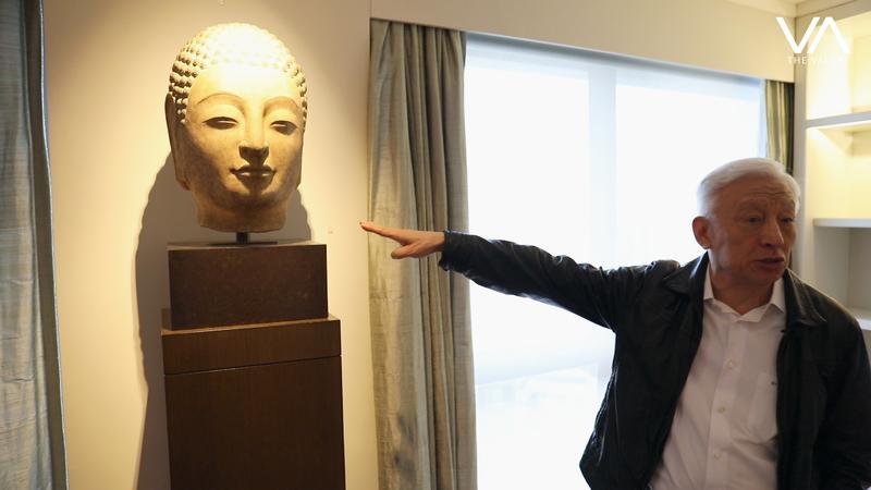 曹興誠的家堪稱小故宮,今年秋拍拿出多件骨董拍賣。(翻攝自THE VALUE)