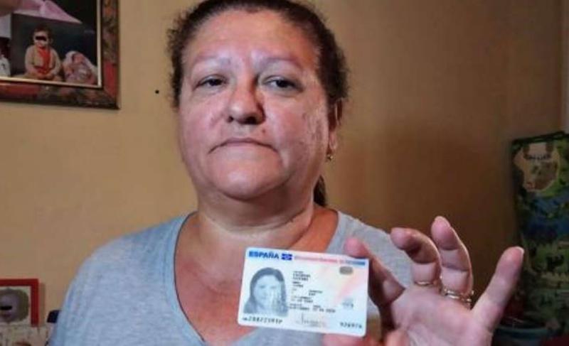 西班牙婦人胡安娜(Juana Escudero Lezcano)被死亡7年,求助無門。(翻攝自http://www.cope.es)
