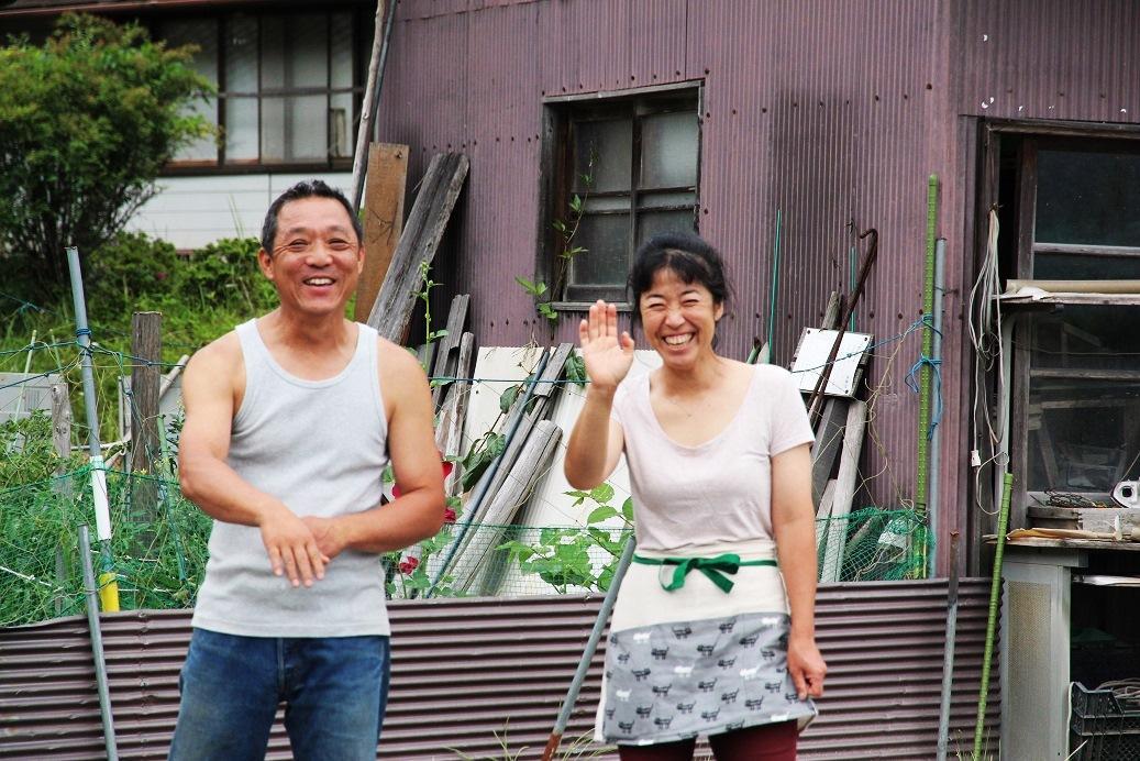 抵達時,田中先生與太太在門口熱情歡迎。