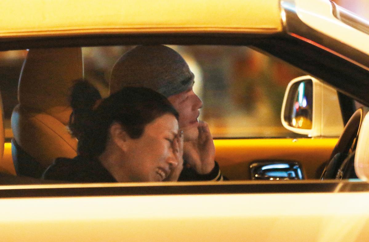 蕭敬騰買勞斯萊斯當自己30歲生日禮,一拿到車就載經紀人林有慧遊車河。
