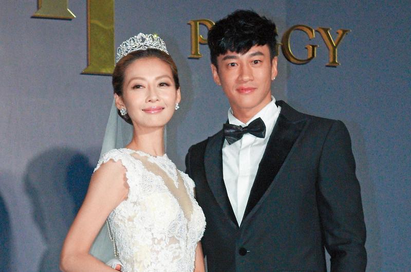 何潤東與Peggy相戀8年,去年底終於走上紅毯。(東方IC)