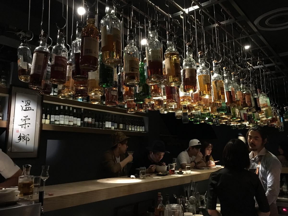 店內氛圍有種低調的華麗感,喝點小酒,會讓人慢慢地卸下緊繃。