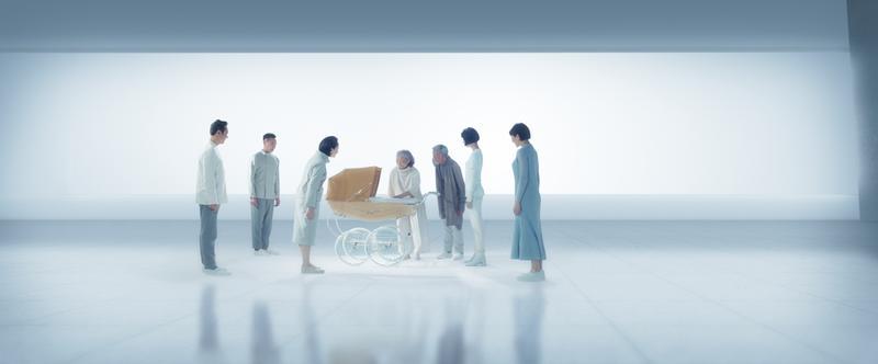 杜琪峯導演為金馬帶來充滿科幻感的影像,一窺他對2117年百年之後的未來世界想像。(金馬執委會)