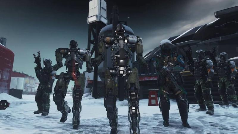 在本次東京電玩展舉辦表演賽的遊戲《決勝時刻:無盡戰爭》之遊戲畫面。