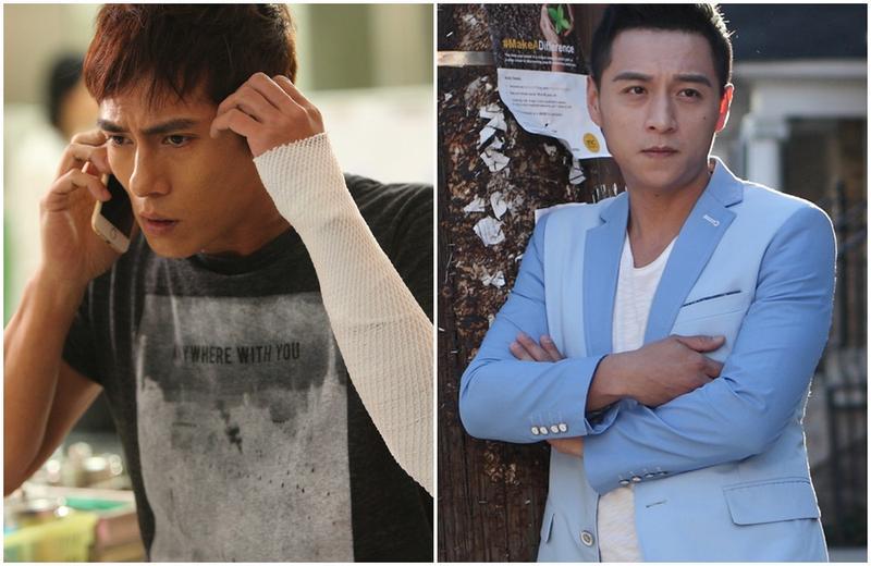 莊凱勛(左)曾獲台北電影節男配角,今年憑《目擊者》入圍本屆金馬影帝。鄭人碩(右) 在《川流之島》中有精采表現,是影壇看好的男演員。(金馬執委會提供)