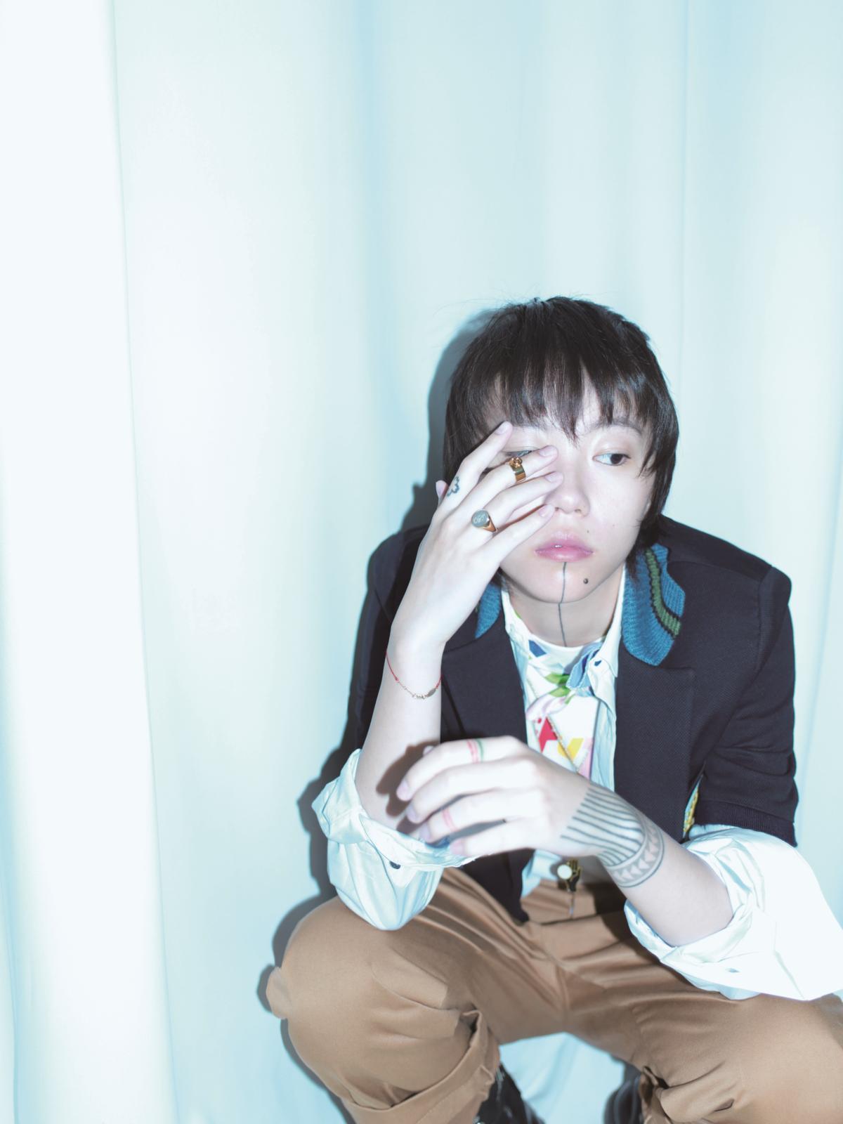 竇靖童推出第二張數位新專輯《Kids Only》,曲風更為隨性自由充滿個人風格。(Katie Chan Productions Co Ltd 提供)