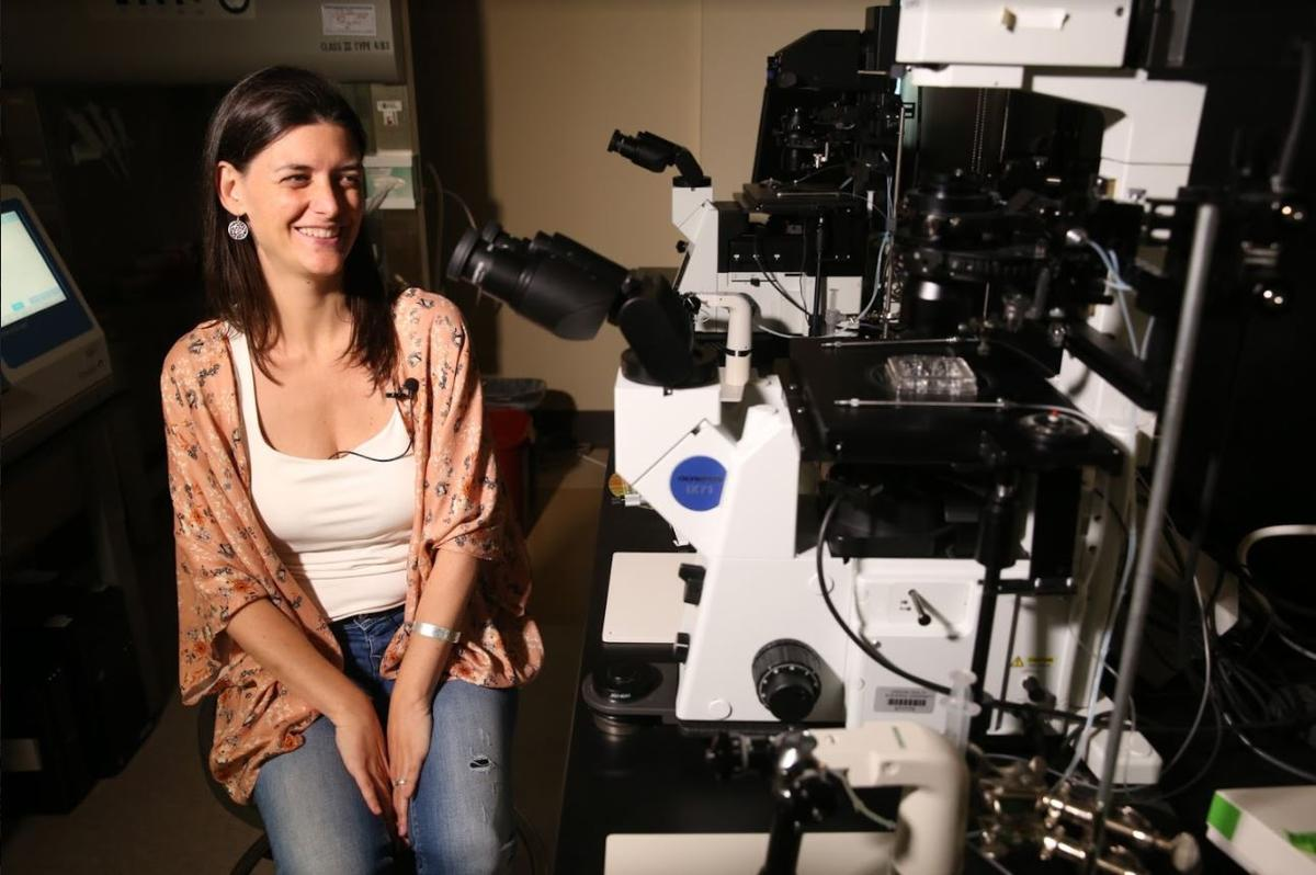 來自西班牙的Nuria Martí Gutiérrez說能在這個實驗室工作,彷彿美夢成真。