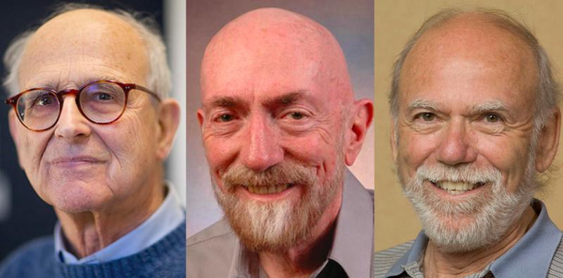 這三位美國物理學家在愛因斯坦預言重力波的100周年,成功偵測到重力波,成了2017年諾貝爾獎得主。(圖截自麻省理工學院官網)