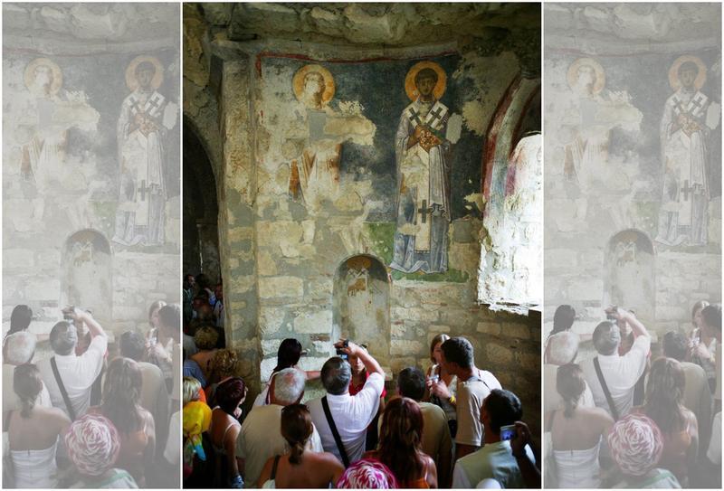 土耳其安塔利亞省的聖尼古拉教堂,每年都吸引大量遊客朝聖。(東方IC)