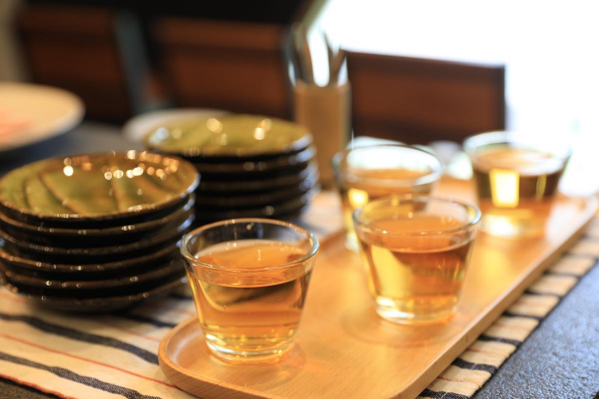 下午三點過後,入住旅客可以品嘗紅茶稍作休息。