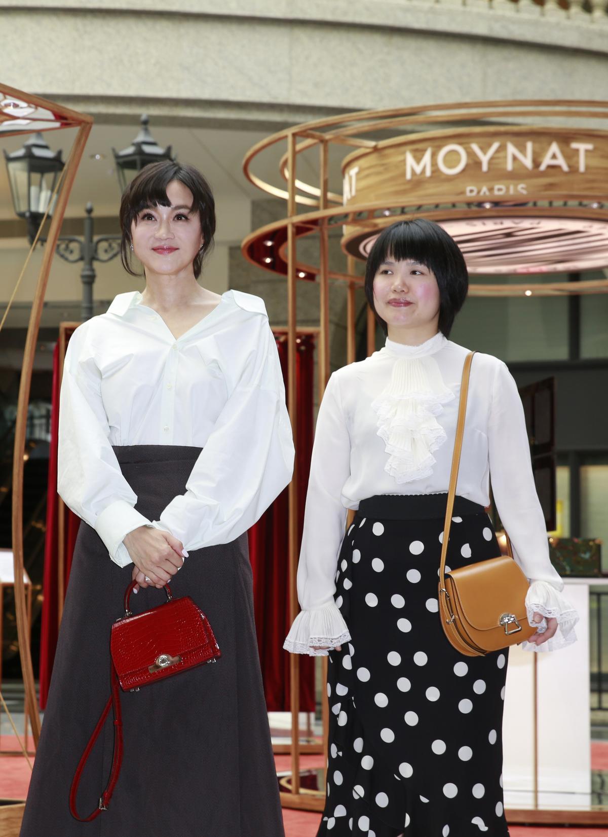 高怡平熱愛時尚,透露自己所有包款收藏都會留給未來媳婦。