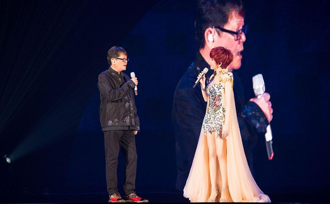 曾幫江蕙寫出經典〈家後〉的鄭進ㄧ,也是「祝福」演唱會嘉賓之一。 (寬宏提供)