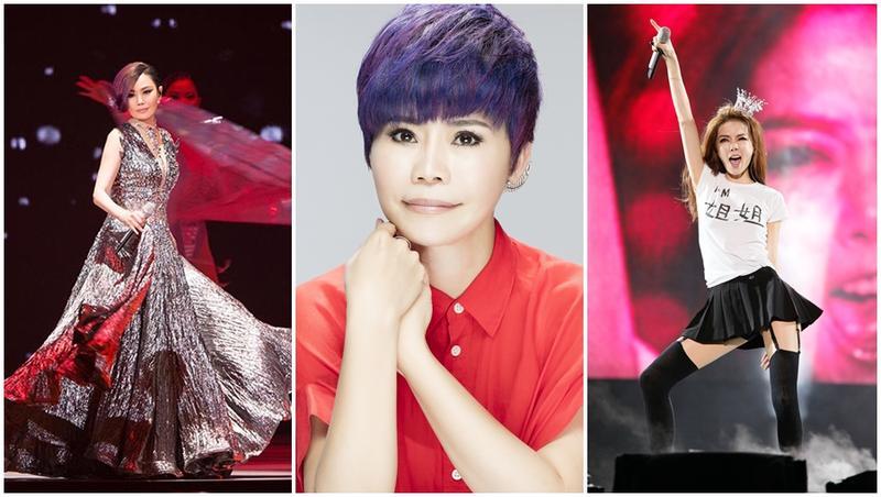 江蕙與謝金燕都在小巨蛋舉辦過演唱會,詹雅雯也將首度在此開唱。(寬宏提供)