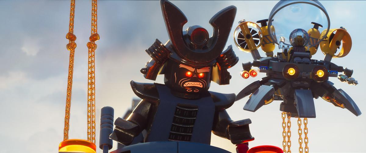 《樂高旋風忍者電影》(The LEGO Ninjago Movie)劇照。(華納兄弟)