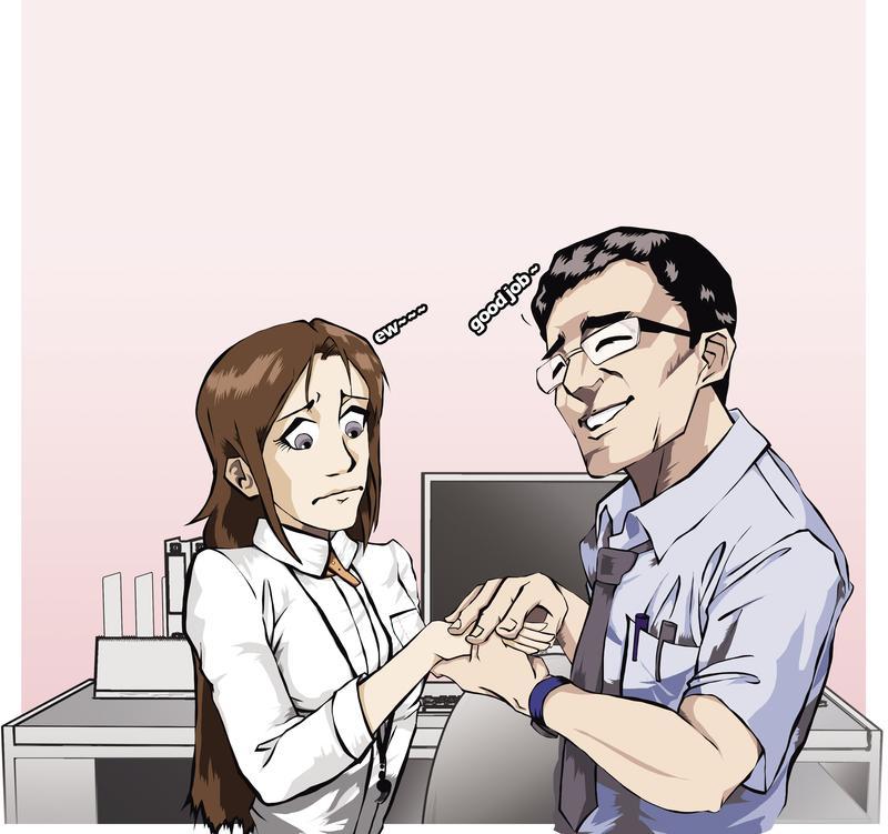 色狼主管不僅對護理師下手,還對十多位女下屬伸出狼爪,都鎖定個性文靜的女性下手。