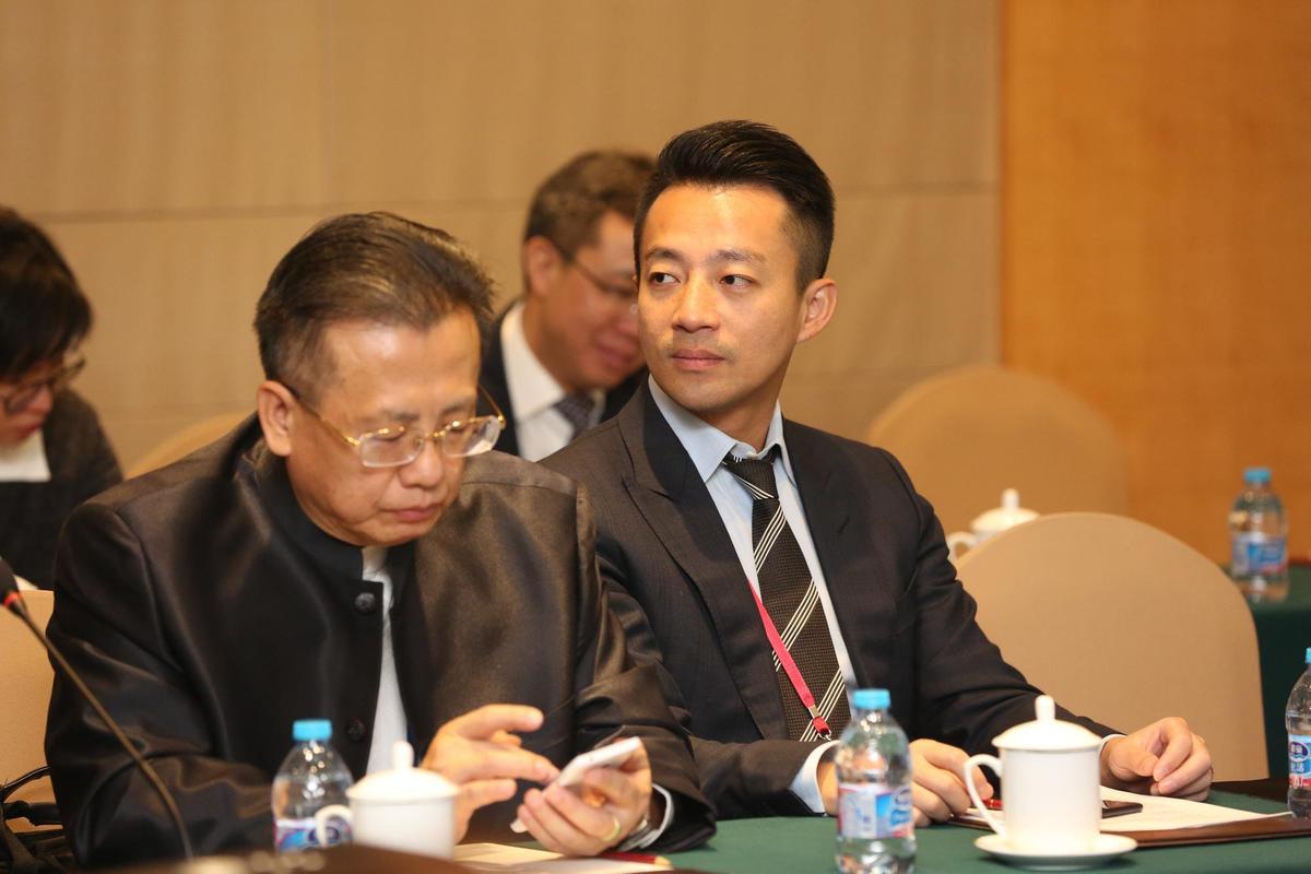 汪小菲去年11月初參與兩岸和平發展論壇。