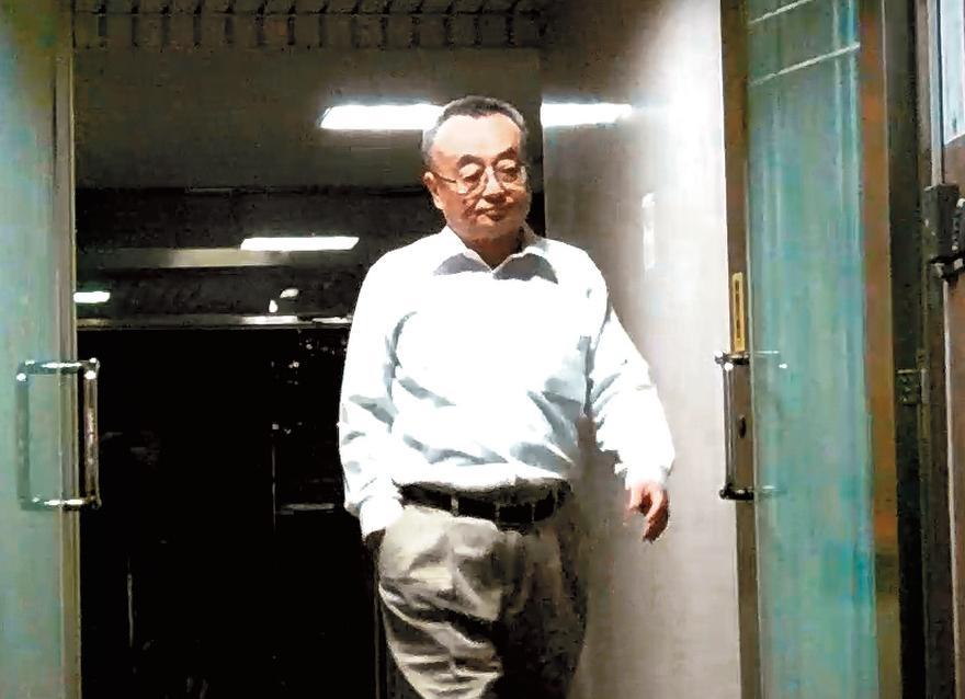 去年在台笨經營權之爭勝出的大股東孫鐵漢(圖),與吳乃仁是同一陣線。
