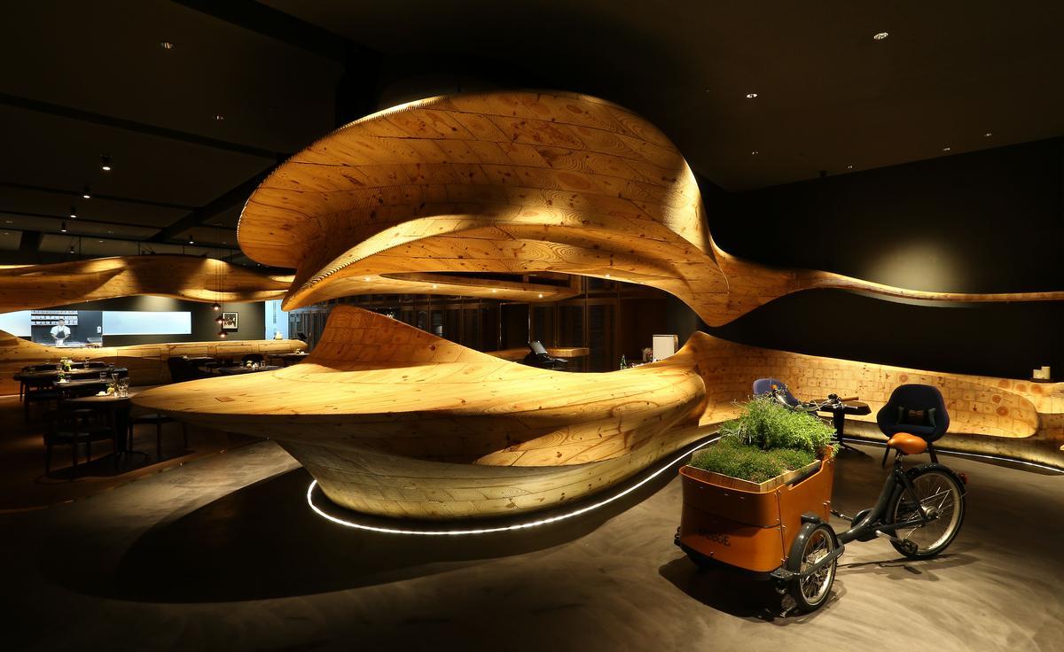 RAW現代感的空間多次獲得設計獎項肯定。