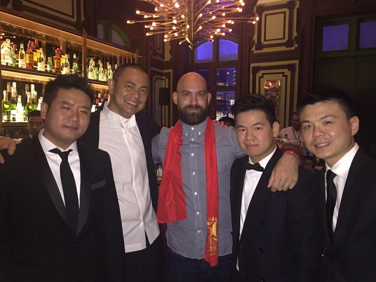 江振誠帶領RAW團隊成功進軍國際美食界殿堂。